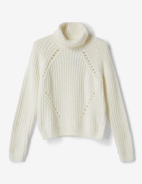 Cream chenille jumper