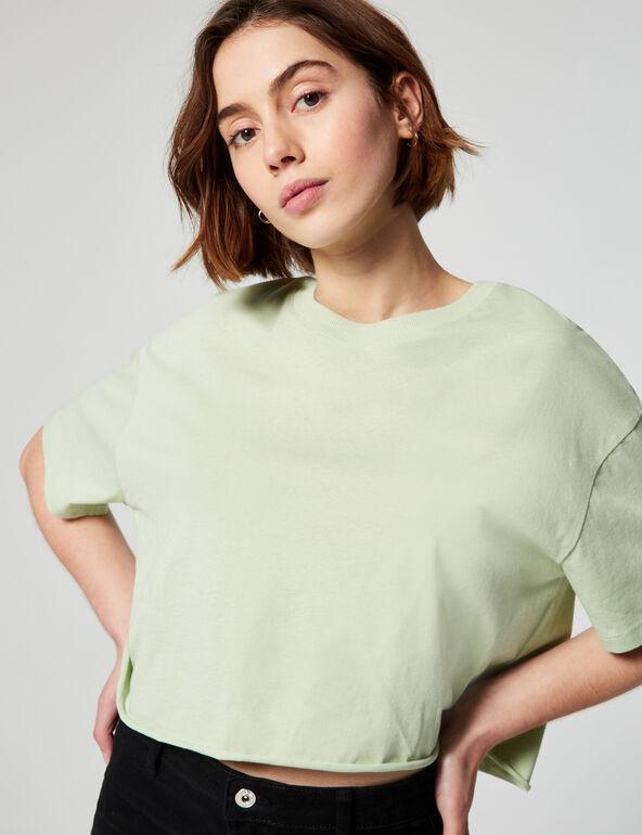 Tee-shirt oversize court