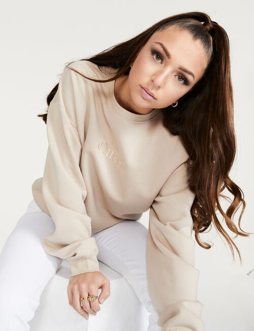 Eva Queen baggy sweatshirt