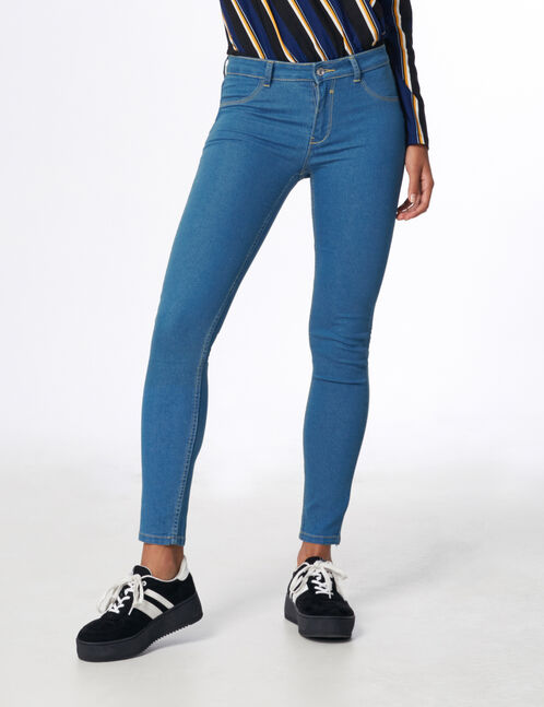 jegging taille medium medium blue