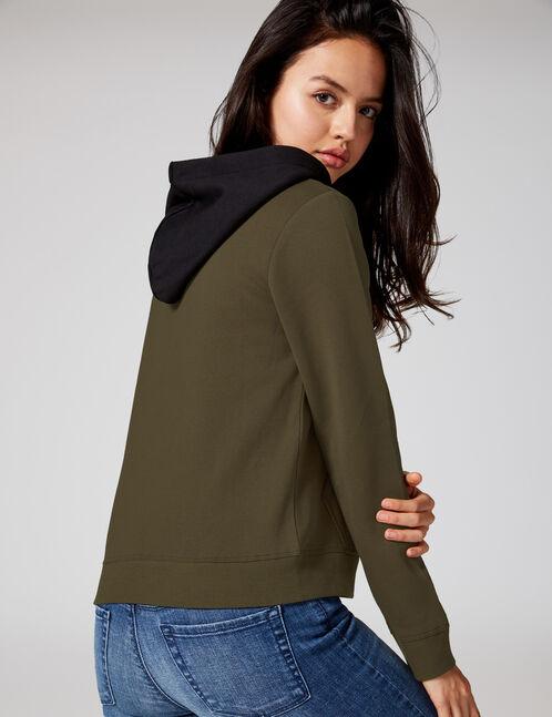 Khaki hoodie