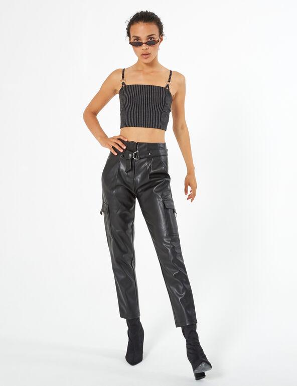 Pantalon cargo simili