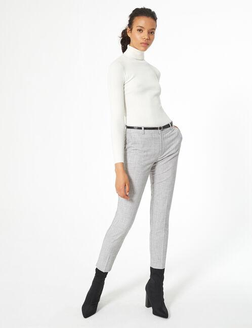 dress pants with belt