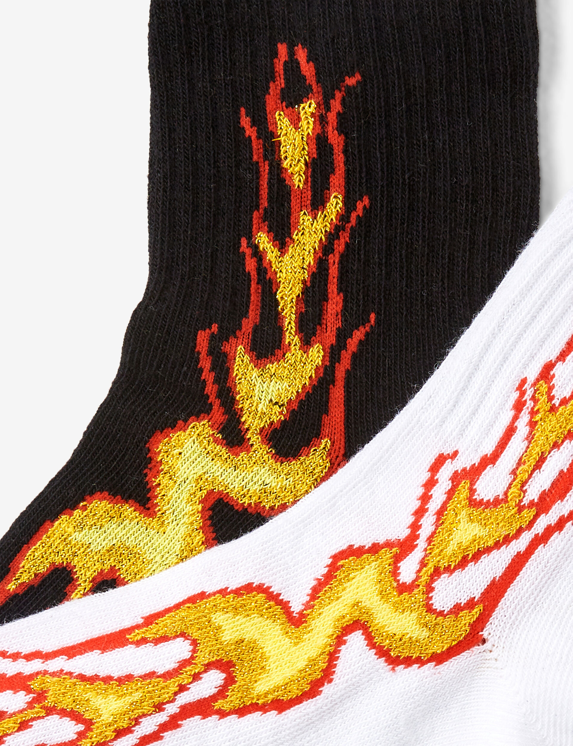 Chaussettes flammes
