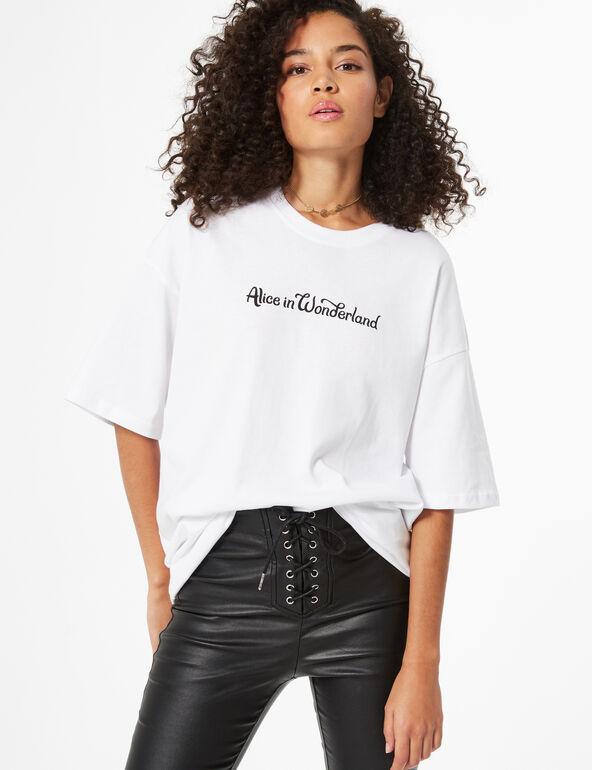 Disney alice in wonderland t-shirt