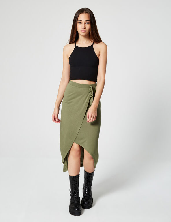 Long fitted skirt