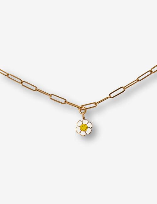Charm fleur Smiley