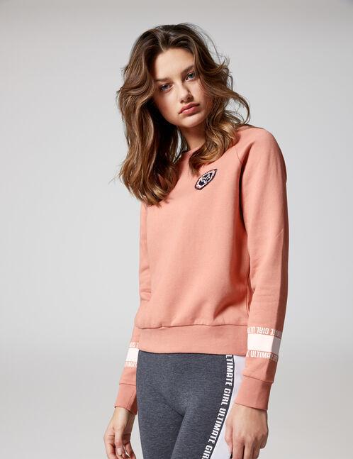 """Pink """"ultimate girl"""" sweatshirt"""