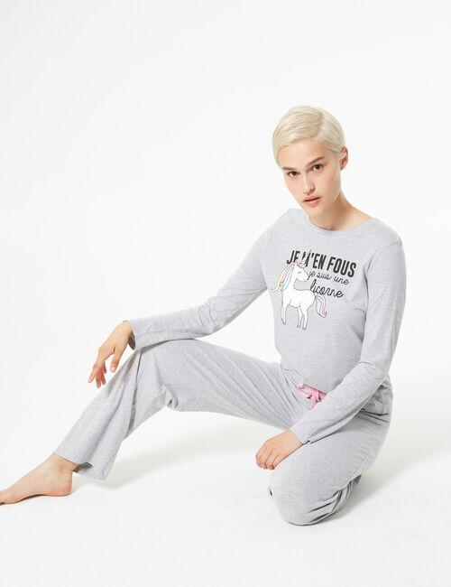Set pyjama licorne