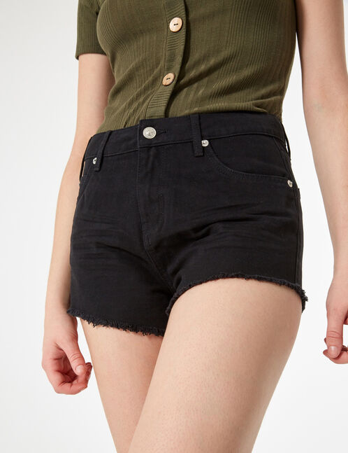 short bords francs noir