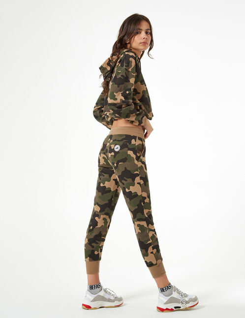 camouflage joggers