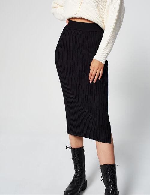 Ribbed tube skirt