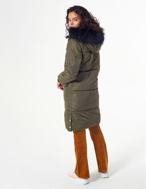Hooded padded jacket
