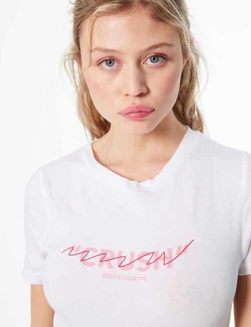 Tee-shirt don't call me crush