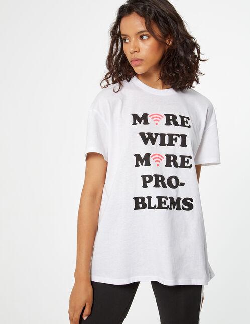tee-shirt more wifi