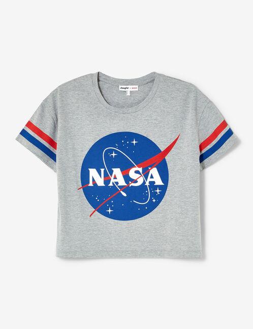 """Grey """"NASA"""" T-shirt"""