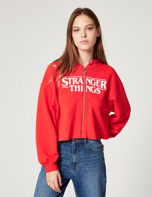 Stranger Things zipped hoodie