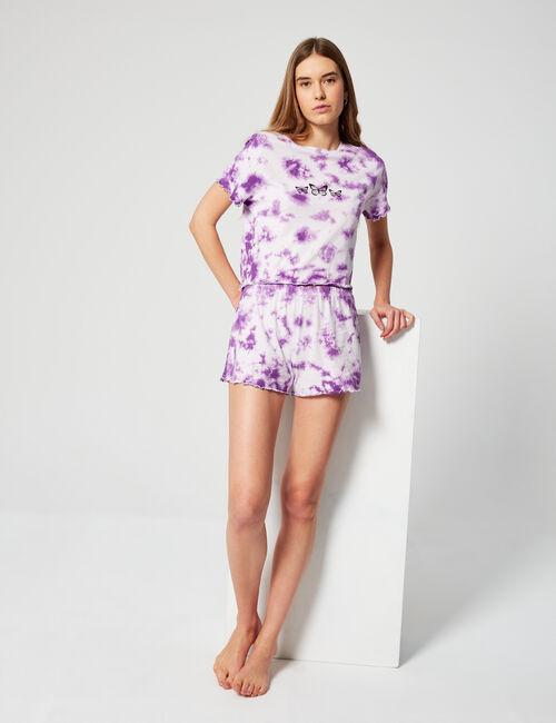Set pyjama tie and dye