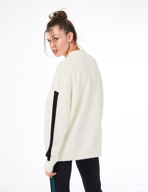 "Cream ""like no other"" jumper"