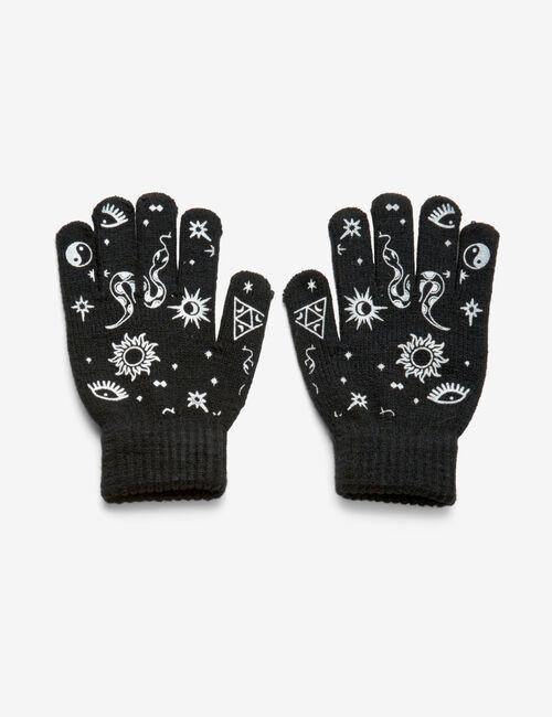 Patterned printed gloves