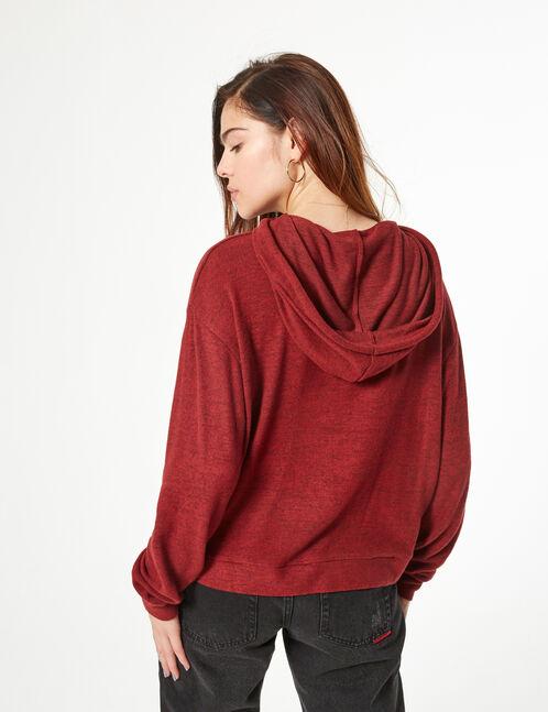 Tee-shirt à capuche