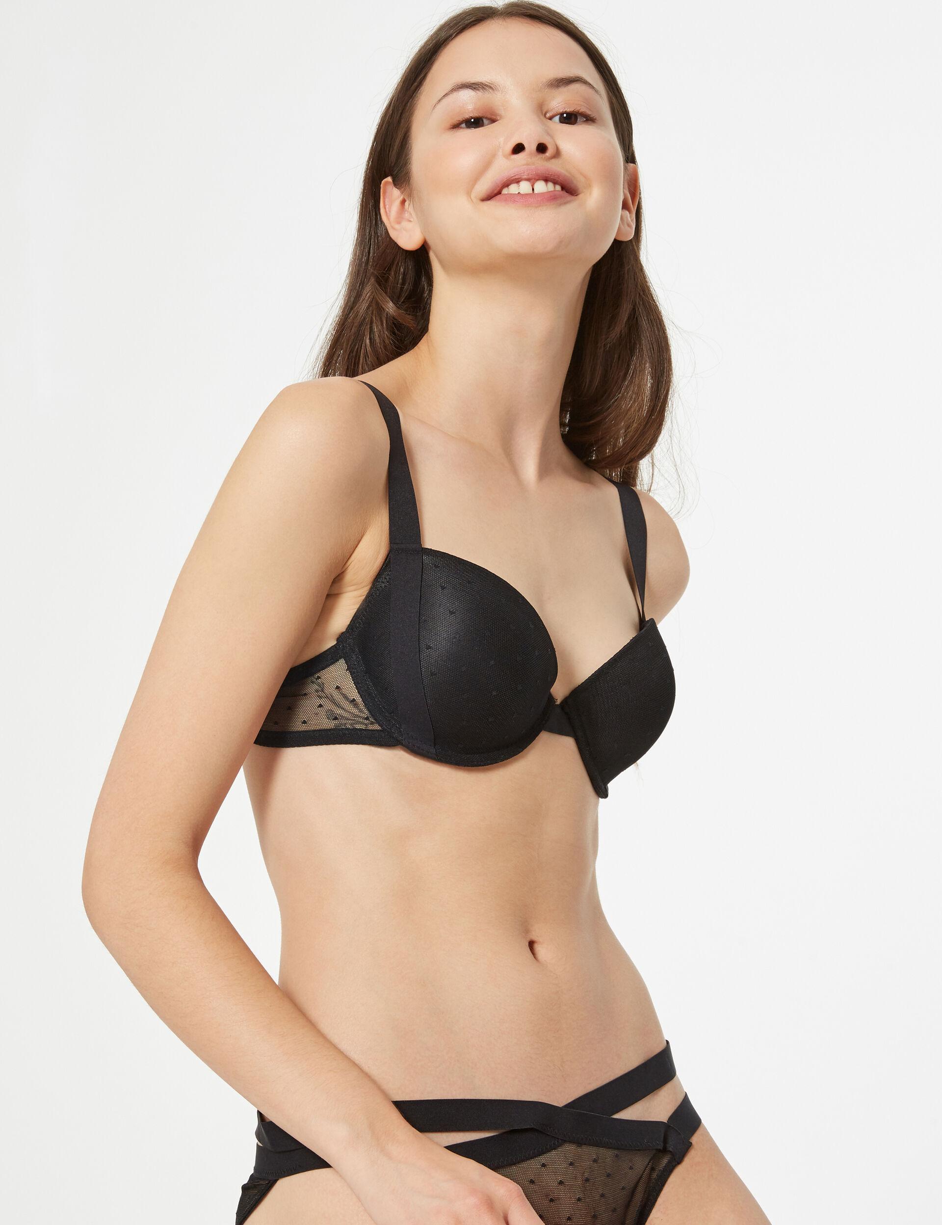 Swiss dot bra