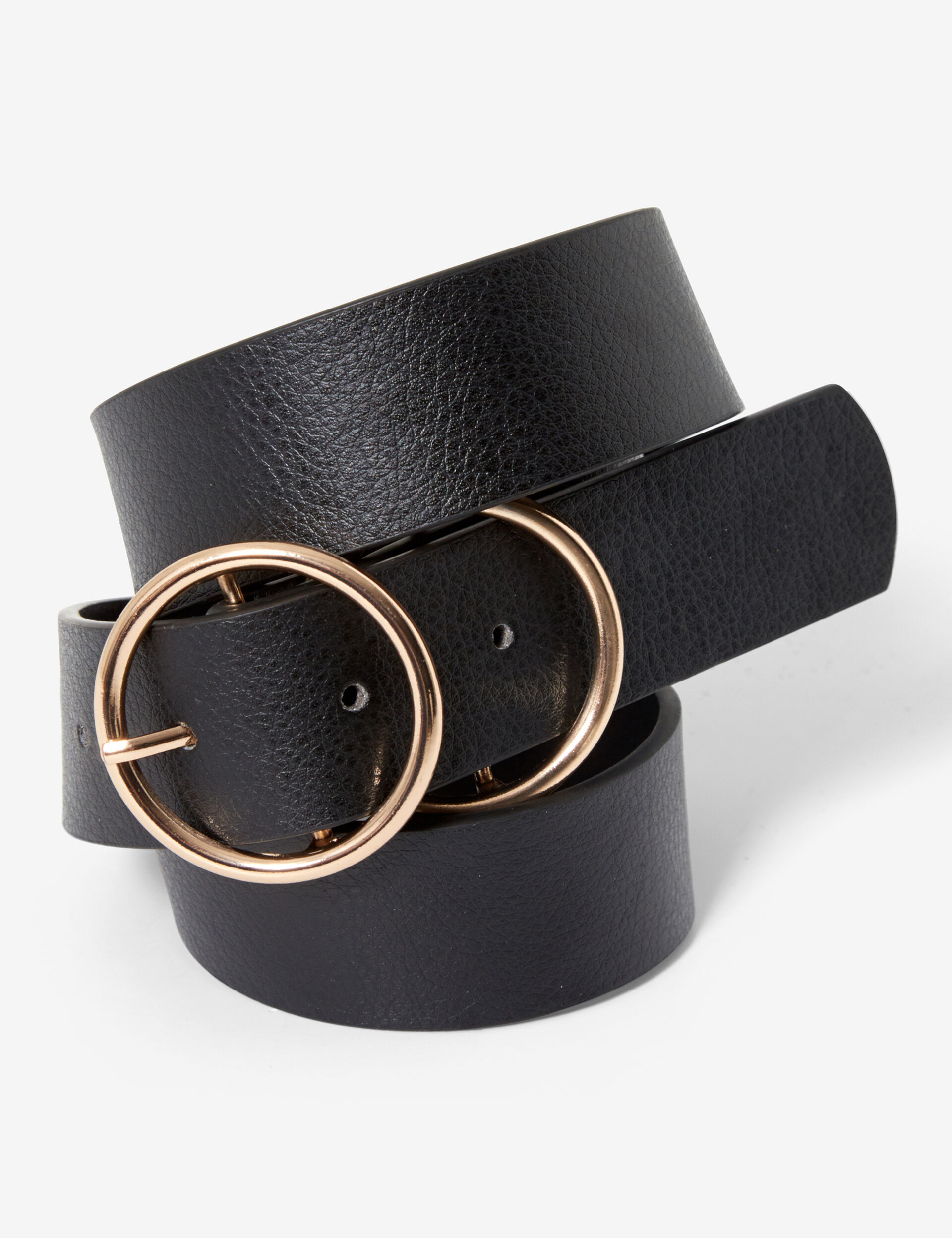 Double-buckled belt