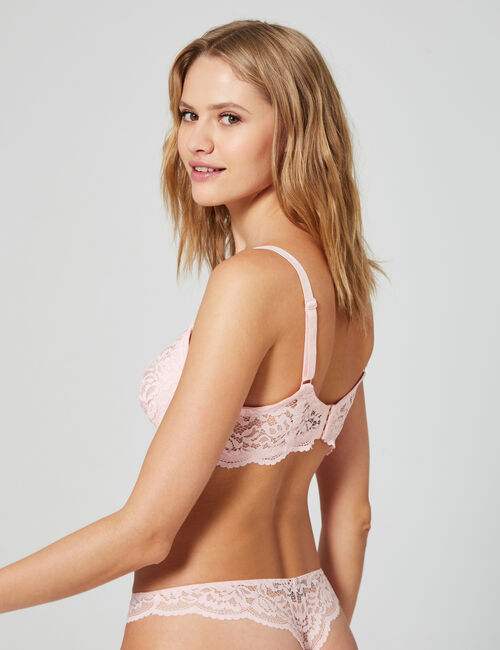 Half-cup bra