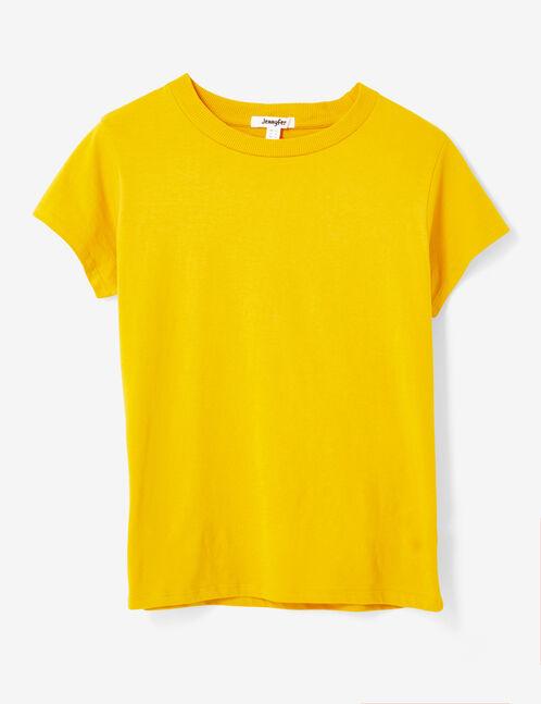 tee-shirt basic ocre