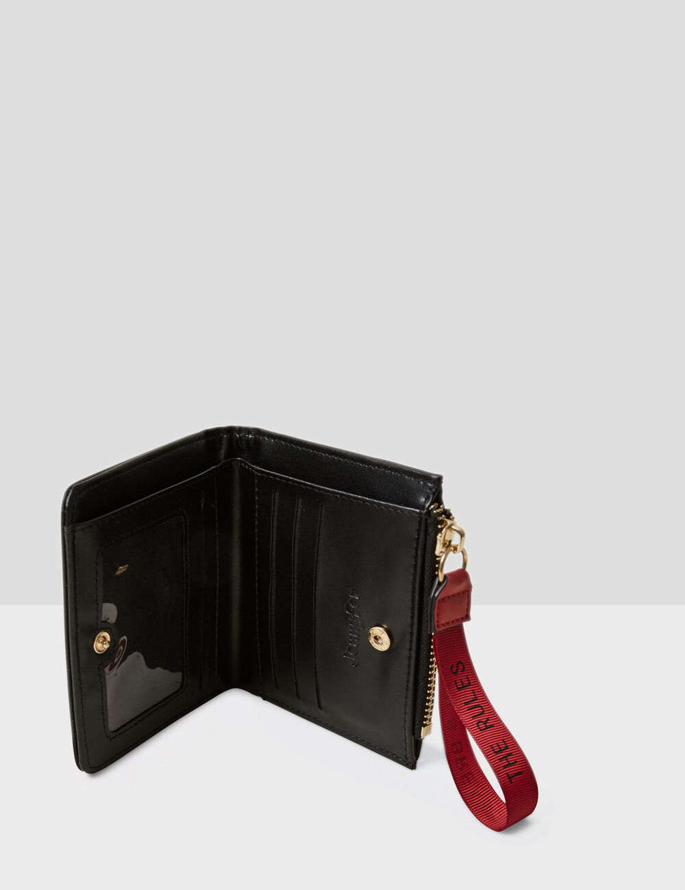 Petit portefeuille noir femme • Jennyfer 9f4f40fcca4