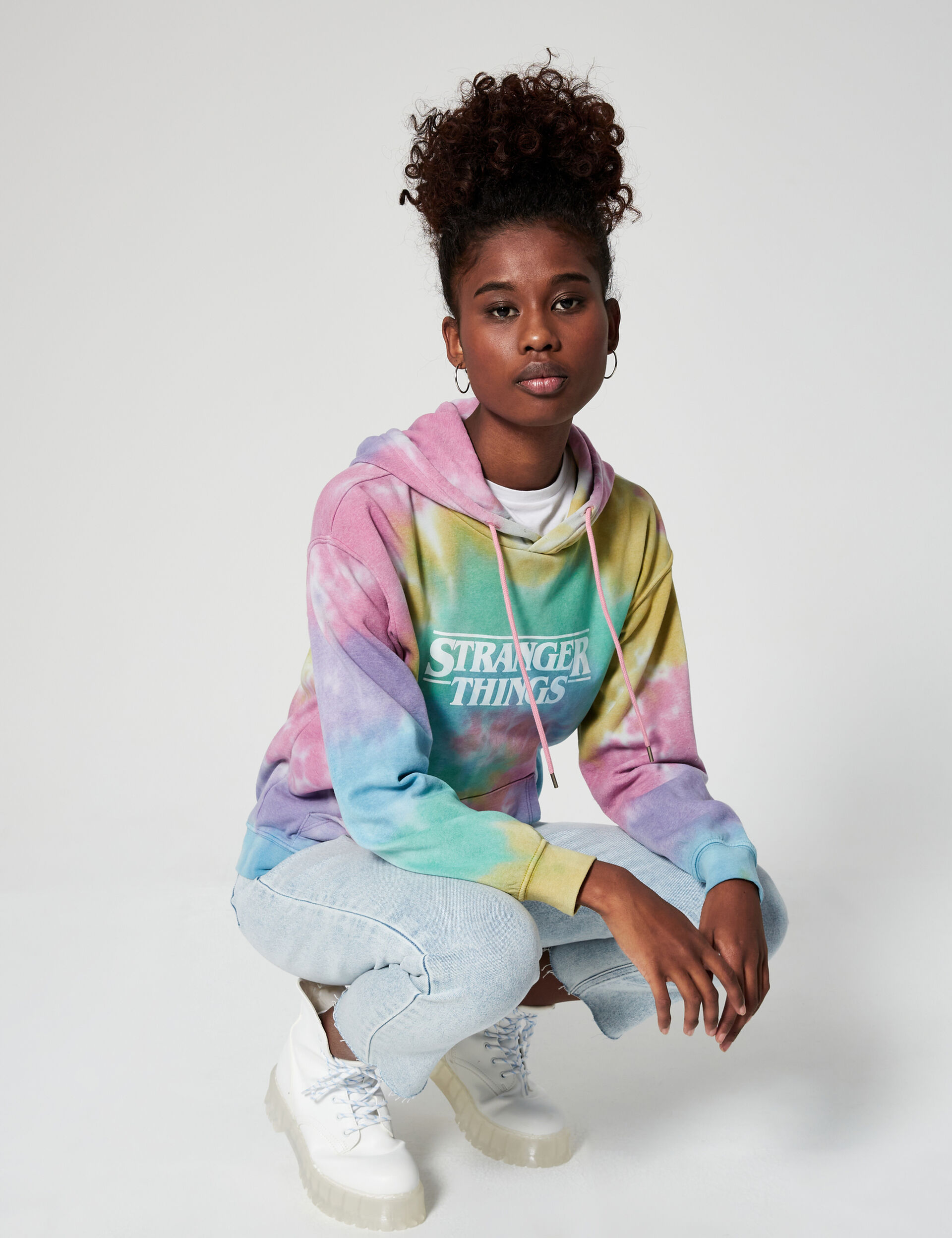 Sweat Stranger Things tie and dye