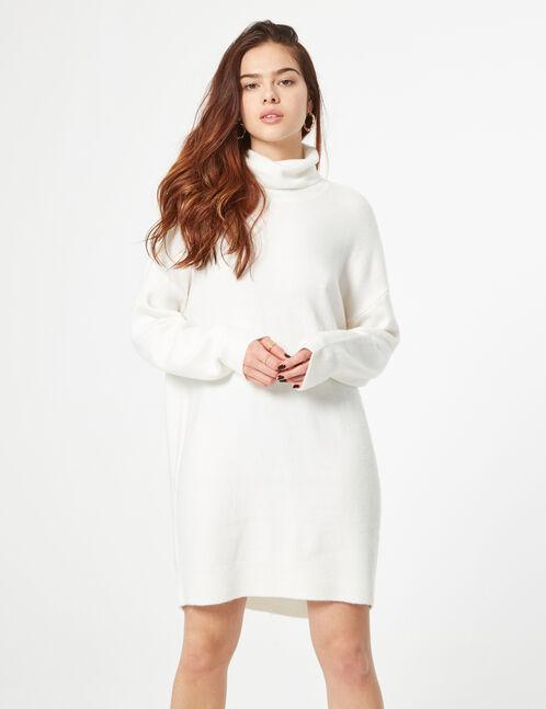 Cashmere effect jumper dress
