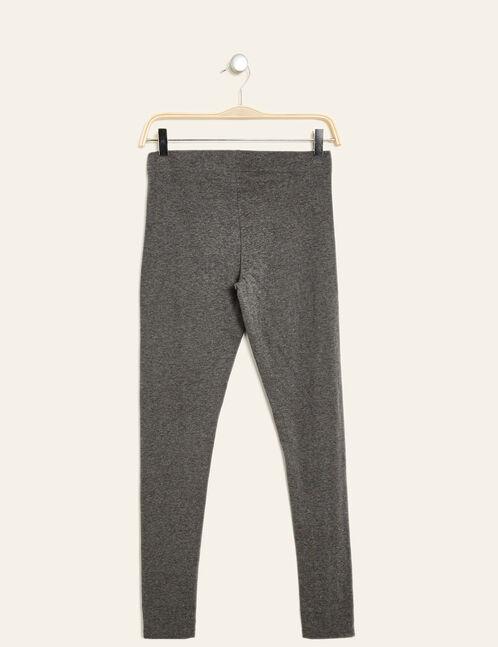 Basic charcoal grey marl leggings