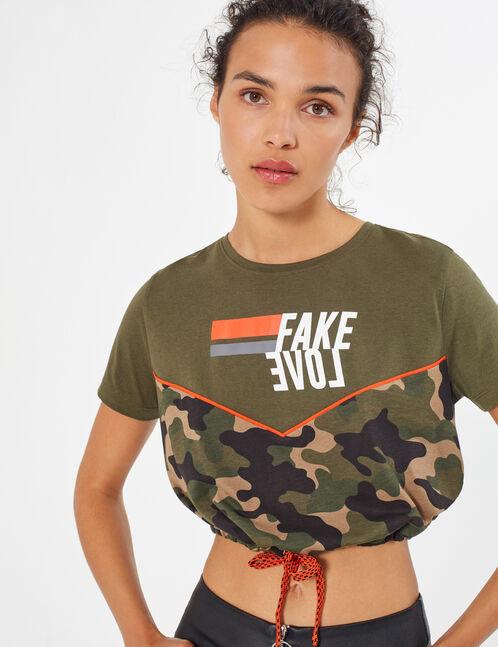 """fake love"" T-shirt"