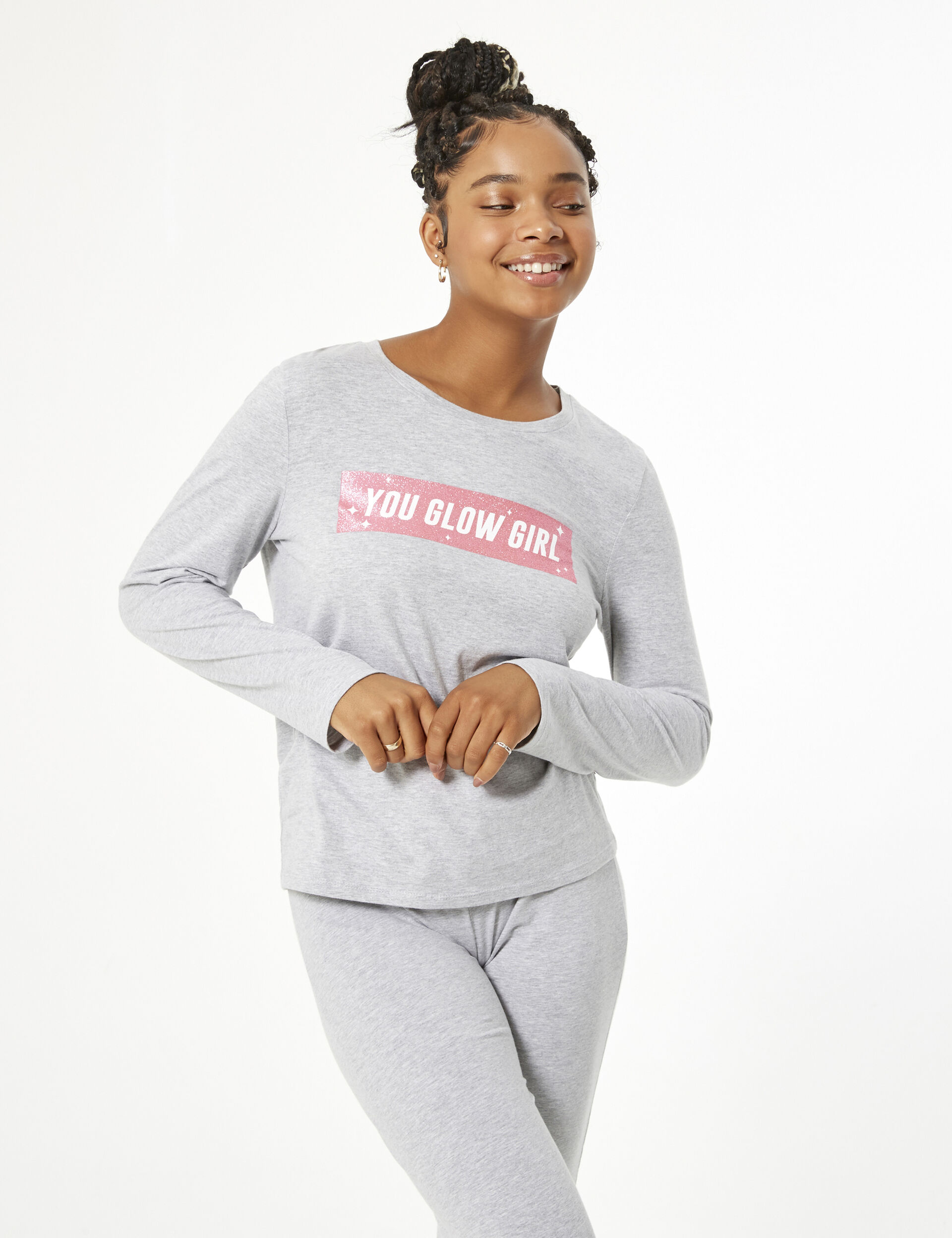 You glow girl pyjama set