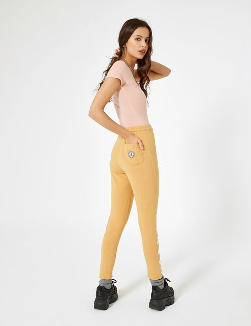 jogging slim iconic beige