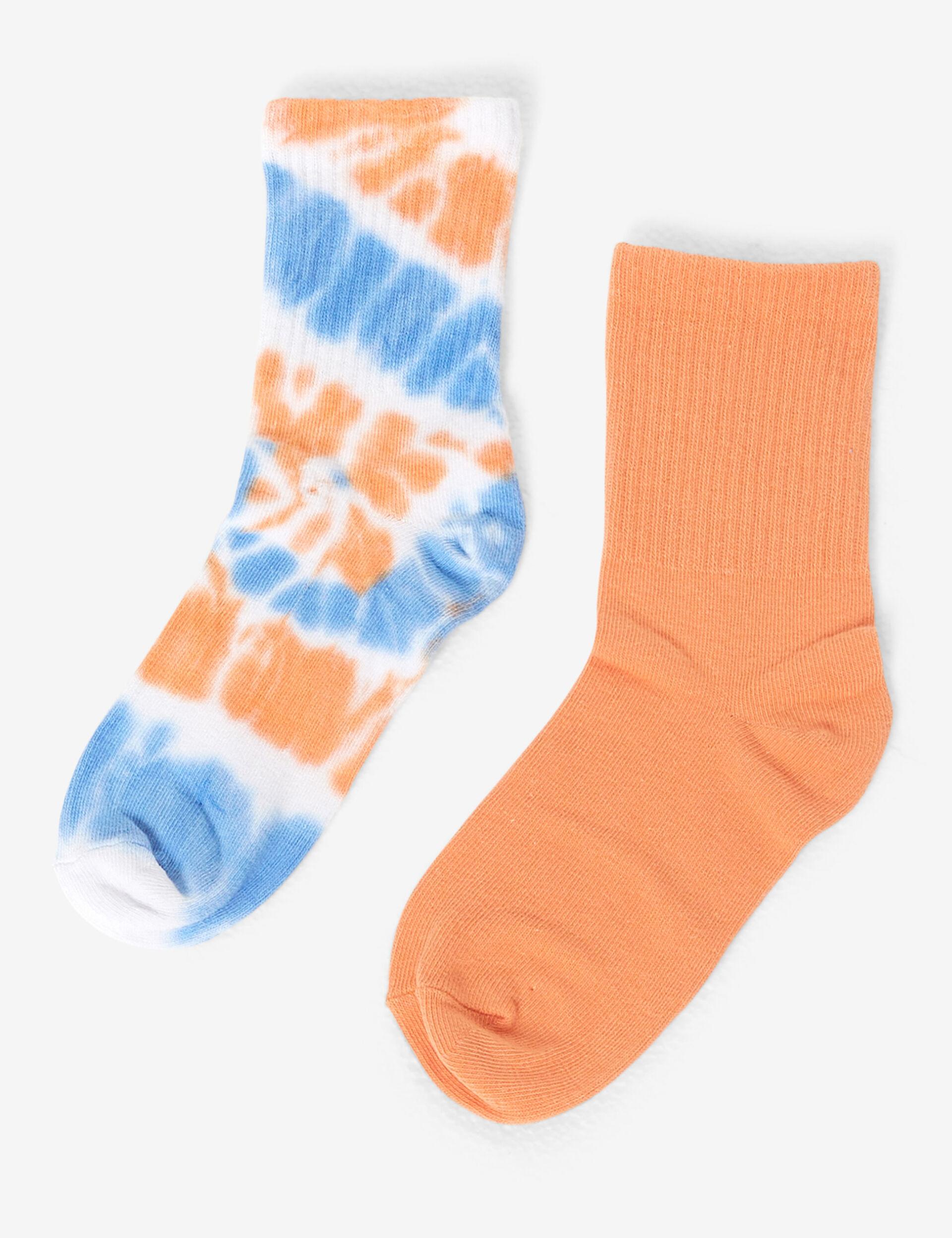 Chaussettes hautes imprimées