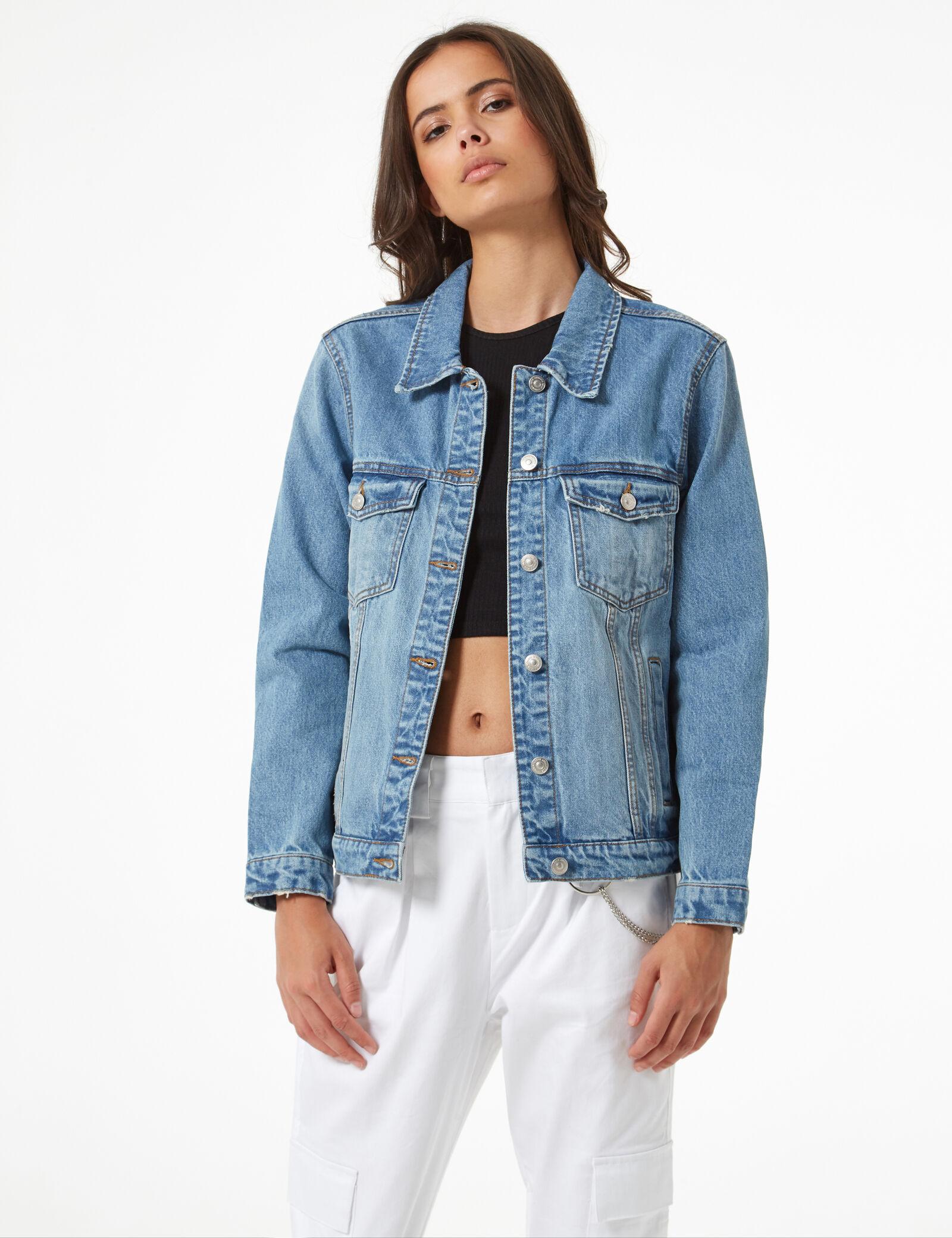veste en jeans femme 2019