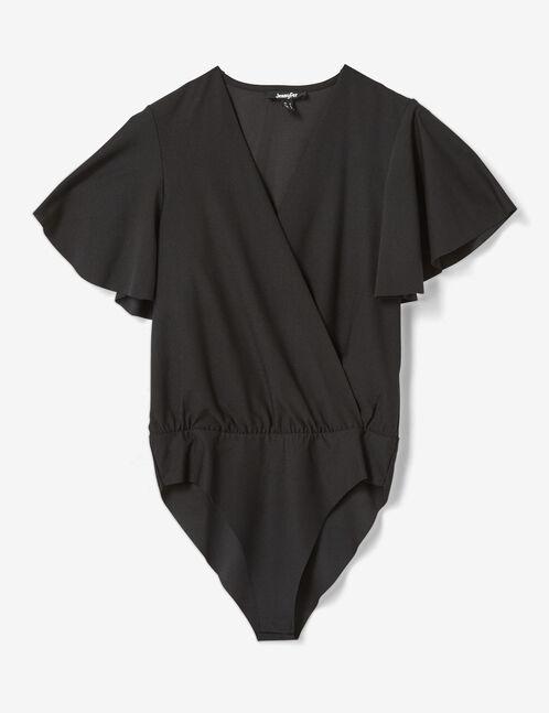 body cache-coeur noir