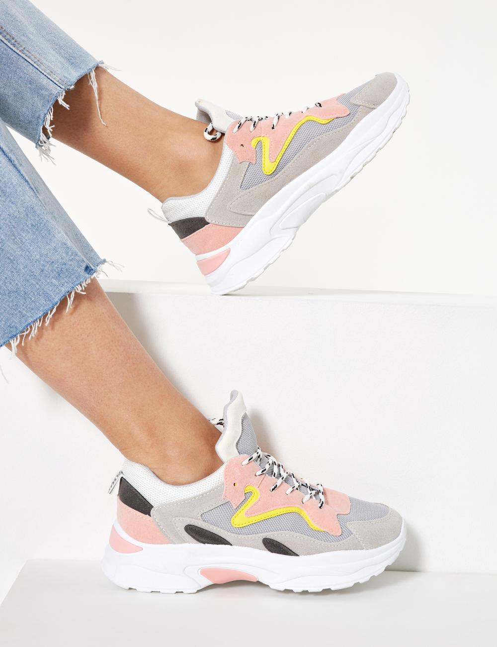 Sneakers con da zeppa donna Jennyfer • Multicolore xqBrxzAO